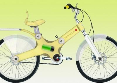 Bicicleta elec. SEVILLA SOL